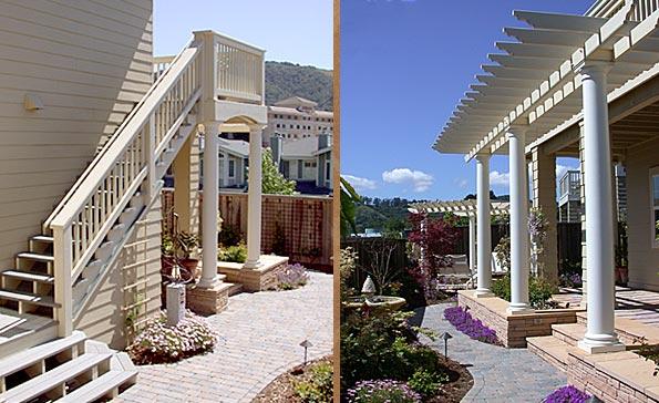Tuscan Courtyard Remodel